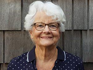 Alison Miller, smiling.