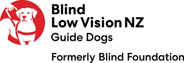 Blind Low Vision NZ Guide Gods logo