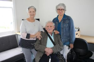 Shaun and his sisters Maureen and Liz who used to live in Nathan House